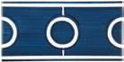 NSB 10x20 nodo semplice blu...